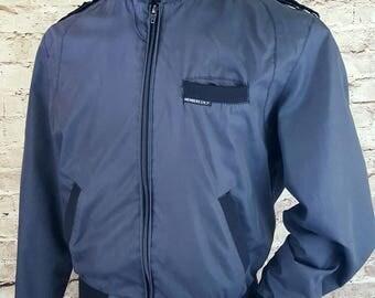 MEMBERS ONLY Jacket/Black Members Only Jacket/Mens 42