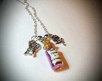 Disney's Sleeping Beauty Inspired Necklace