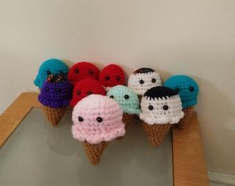 Knitted Ice Creams