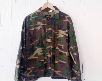 Kmart Camouflage Jacket Vintage