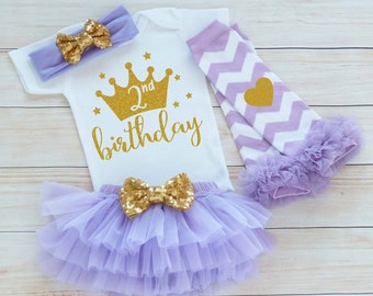 Second Birthday Outfit Girl, 2nd Birthday Girl Outfit, 2nd Birthday Shirt, Second Birthday Girl Bodysuit, 2nd Birthday, Birthday Girl Gift