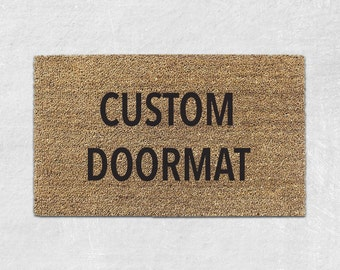 Personalized Door Mat - Personalized Doormat - Custom Doormat - Custom Door Mat - Personalized Welcome Mat - Custom Welcome Mat - Funny 009