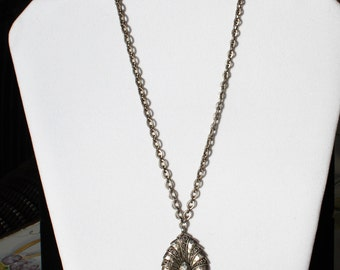 Vintage Lois Hill Pendant 925 Sterling Silver