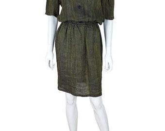 DIOR BOUTIQUE Vintage Dress & Apron Set (44)