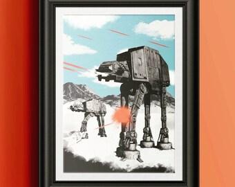 Star Wars - The Empire Strikes Back Print