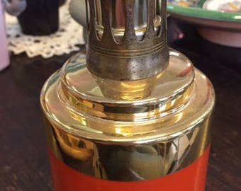 berger porcelain lamp