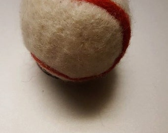 Newborn Baseball Felted Baseball Baseball Photo Prop