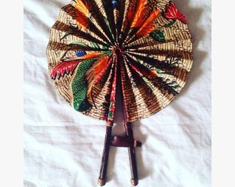 Traditional Fabric & Leather Fans