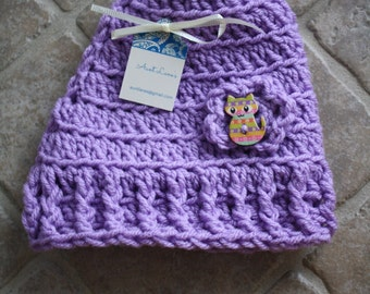 Size 6-9M, Handmade Baby Hat, Crochet Baby Hat, Baby Hat, Baby Girl Hat, Infant Girl Hat, Newborn Baby Girl Hat, Baby Gift, Baby Shower Gift