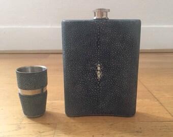 Shagreen Flask