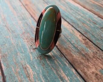 Vintage Native American Ring, Southwestern Ring, Southwest Ring, Southwest Jewelry