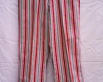 1960s Striped  Jeans.