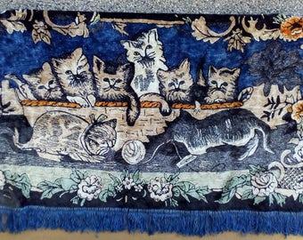 Vintage Wall Carpet, Wall Hanging Rug, Decorative Rug, Handmade Rug, Vintage Rug, Wall Decor, Vintage Hanging Tapestry.