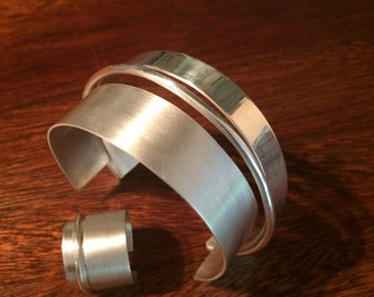 Sterling Silver Bangle and Matching Ring