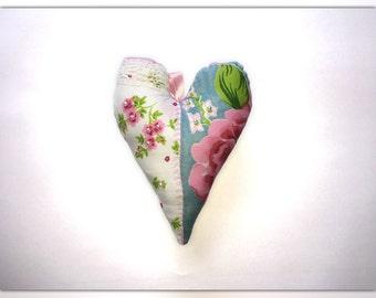 Heart, Dekoherz, stitched heart, spring decoration