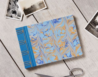 Marbled Japanese Stab Bound Journal/Notebook/Sketchbook