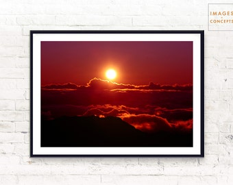 Nature Print ~ Landscape Art ~ Nature Photo ~ Home Decor ~ Modern Photography ~ Printable Decor ~ Instant Download ~ Digital Print ~ Sunrise