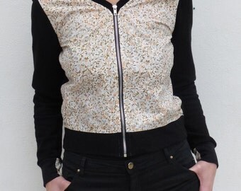 Vest woman TM - recycled & organic fabrics - unique piece