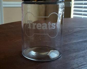 Glass Treat Jar - Large