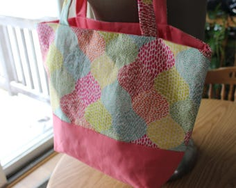 Homemade Tote Bag Two Toned