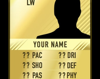 Custom Ultimate Team Card