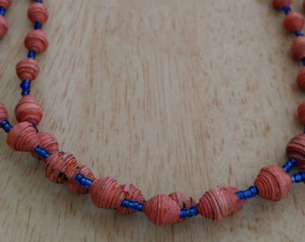 Ugandan Paper Bead Necklaces