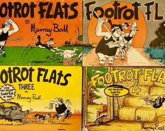 Footrot Flats Classic Australian Comic Books by Murray Ball