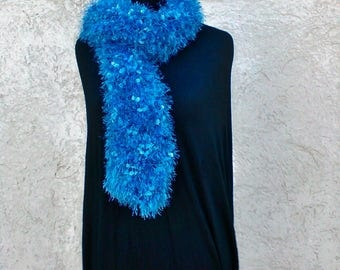 Polyester mesh scarf