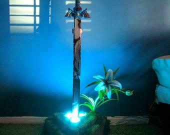 Master Sword of Resurrection Statue from Zelda: Breath of the Wild