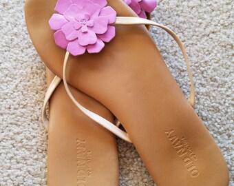 Old Navy Floral Sandals