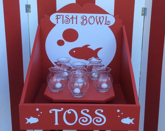 Fish Bowl Toss Carnival Game Target Gallery Company Picnic