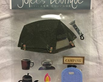 Jolee's Boutique Camping Stickers
