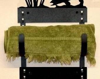 Towel Rack - Walleye Design