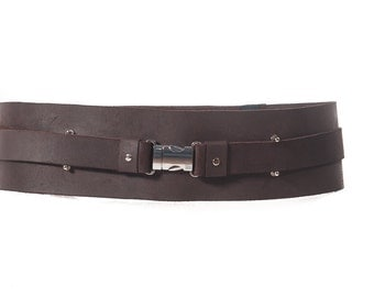 Jedi Knight leather belt