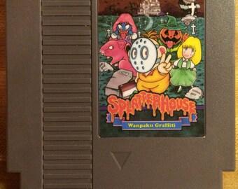 Splatter House NES Game