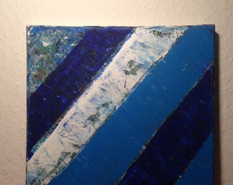 "Abstract paintings - ""ice shards"""