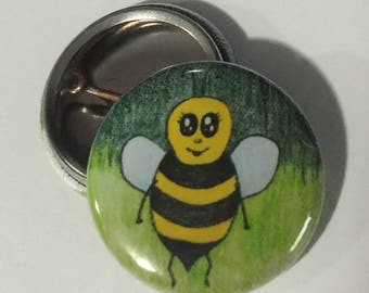 Baby Bee Button
