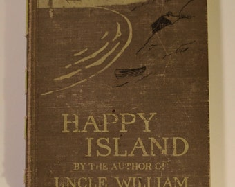 Upcycled Journals - Happy Island