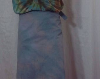 Magic Skirt, Muted Hues, Size Large (#418)