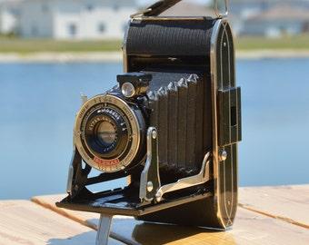 Agfa Ansco Plenax PB-20 vintage folding camera