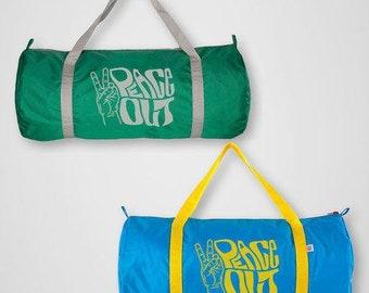 Peace Out Gym Bag