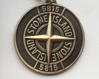 Rare Stone Island Vintage 80's Metal Keyring