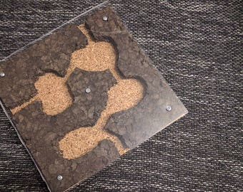 Ant Cork Nest 26x26x2,7cm