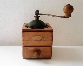 Odax vintage coffee grinder. France 1950
