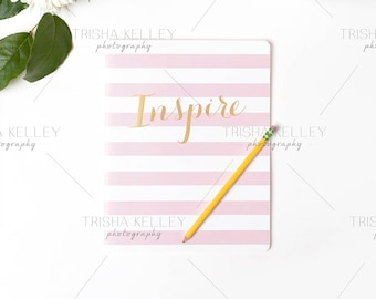 Inspire Notebook with Pencil
