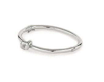 Balloon knot bracelet - silver Knot bracelet