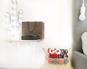Basket pompon other side