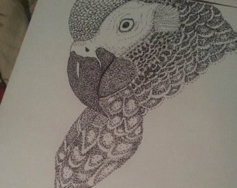 Example of my Stipple Work