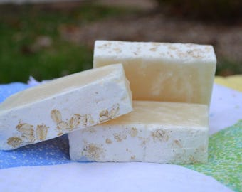 Just Plain Oatmeal Vegan Handcrafted Soap