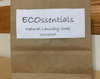 ECOssentials Natural Laundry Detergent - Unscented